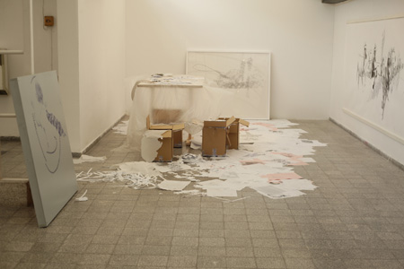 Installation View, Tel Aviv